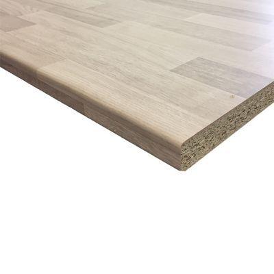 plan de travail stratifie aspect bois decor hetre hydrofuge 280 x 62 cm ep 28 mm vendu a la piece