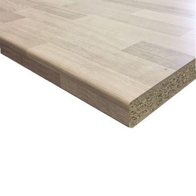 plan de travail stratifie aspect bois decor hetre hydrofuge 280 x 62 cm ep 38 mm vendu a la piece