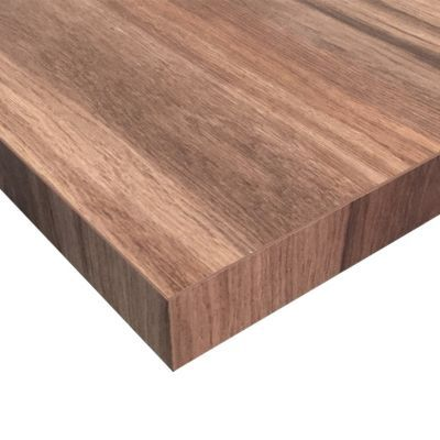 plan de travail stratifie aspect bois decor noyer fonce hydrofuge 208 x 65 cm ep 30 mm vendu a la piece