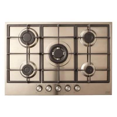 plaque de cuisson au gaz clgasfsrp5 5 foyers