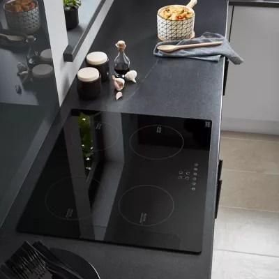 plaque de cuisson a induction cooke lewis clind60 4 foyers