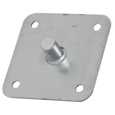 plaque pivot pour moteur 75 x 75mm