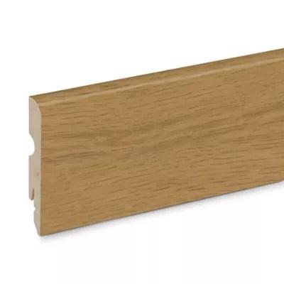 plinthe plaquee bois goodhome 13 x 80 x 2 200 mm decor 275