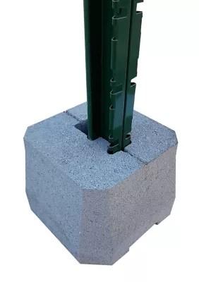 plot beton pour poteaux de cloture grillagee