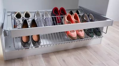 porte chaussure acier form darwin 100 cm