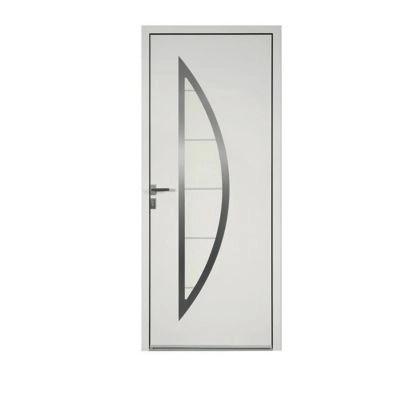 porte d entree aluminium adora blanc 90 x h 215 cm poussant droit