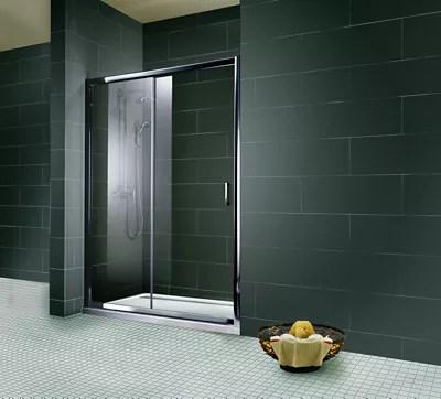 porte de douche coulissante transparente 160 cm imperiale