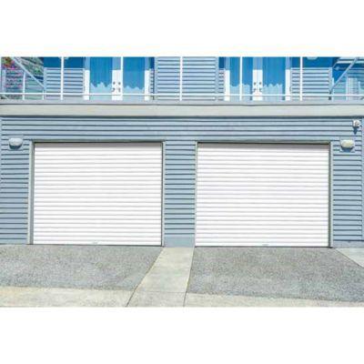 Porte De Garage Enroulable Protecta Opale Blanche L 240 X H 200 Cm Pre Montee Castorama