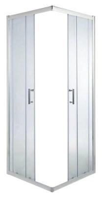 portes de douche angle droit cooke lewis onega transparent 80 x 80 cm