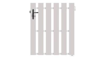 portillon jardimat pvc arenes blanc 9016 100 x h 140 cm