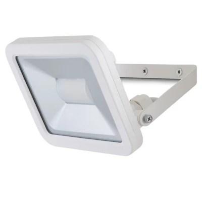 Projecteur Led Blooma Weyburn Blanc 20 W Ip65 Castorama