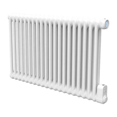 radiateur electrique a inertie fluide goodhome mermoz blanc 1500w horizontal