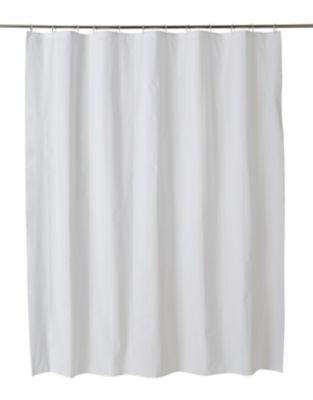 rideau de douche plastique peva blanc 180 x 200 cm palmi