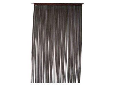 rideau de fils castorama defil noir 110 x 240 cm