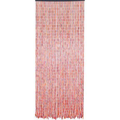 rideau de porte bambou bois et fils 90 x 200 cm