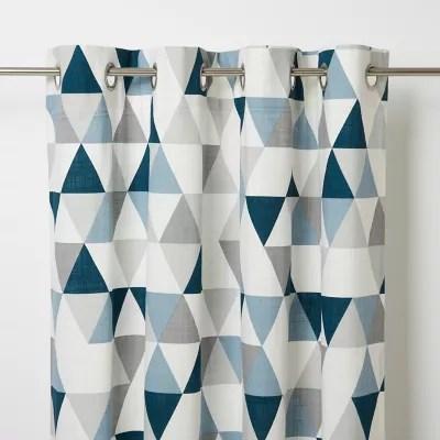 rideau bleu rideau et voilage