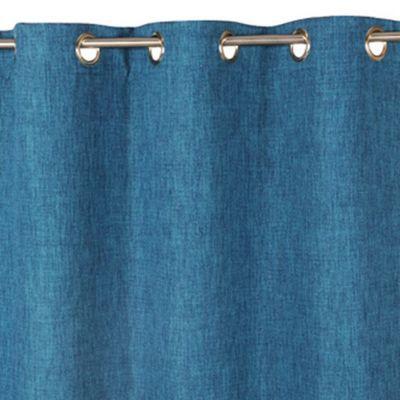 rideau occultant barcelona bleu 140 x 240 cm