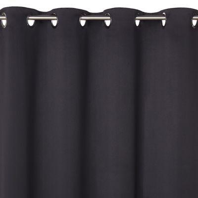 rideau occultant ves noir 140 x 240 cm