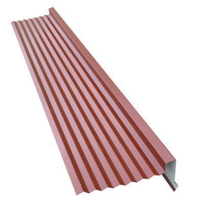 rive pour plaque metal imitation tuile bacacier home steel rouge