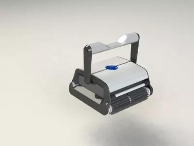 robot aspirateur electrique pour piscine cleano hj2032 2 moteurs fond et paroi