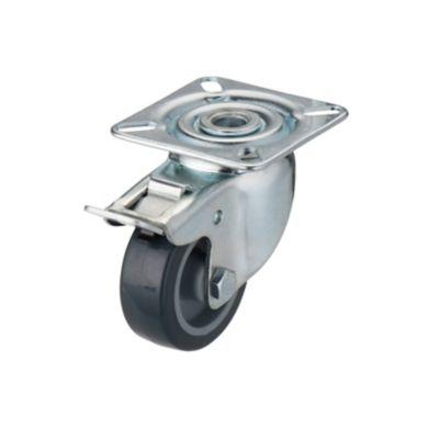 roulette platine pivotante frein diametre 5 cm charge max 40 kg