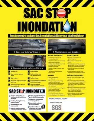 Sac Anti Inondation 22 X 152 Cm Lot De 2 Castorama