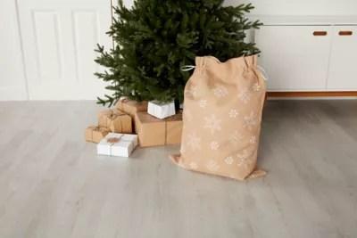 Sac Jute Deco Noel 50 X 80 Cm Castorama