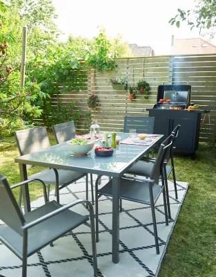 salon de jardin dallas table 6 fauteuils