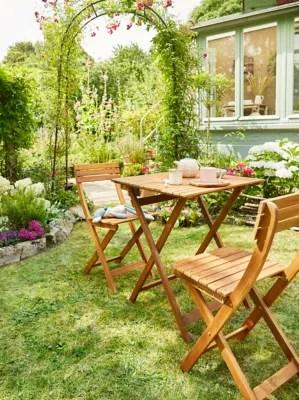 Salon De Jardin Viginia Table 2 Chaises Castorama