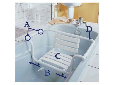 siege de bain avec dossier godonnier