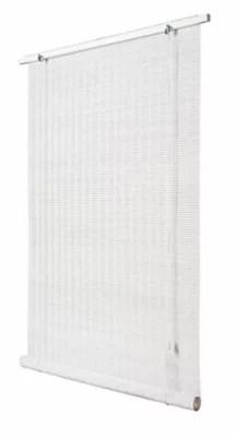 store enrouleur bois blanc 140 x 180 cm