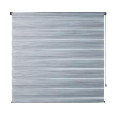 store enrouleur jour nuit colours kala gris 120 x 180 cm