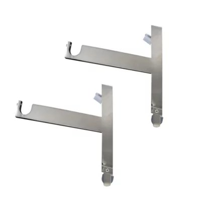 support pour caisson goodhome volet 2 en nickel brosse ikaria