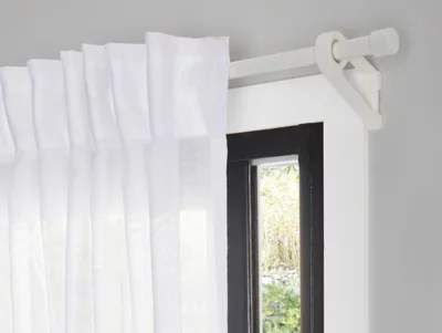 support pour fenetre goodhome coulissante blanc mat ikaria