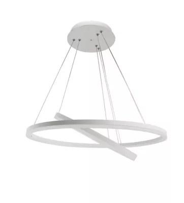 suspension led seynave nelia blanc l 60 cm