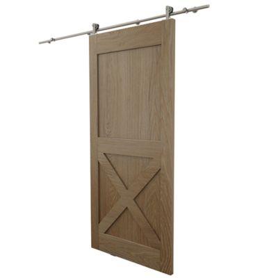 systeme coulissant 1 pour porte en bois