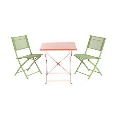 table de jardin saba vegas pliante 70 x 70 cm