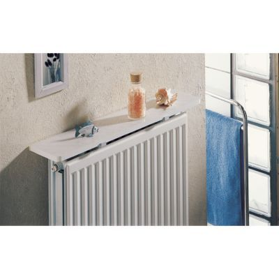 tablette de radiateur blanc unica 100 x 15 cm
