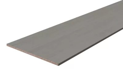 tablette melamine chene gris 60 x 250 cm ep 1 8 cm
