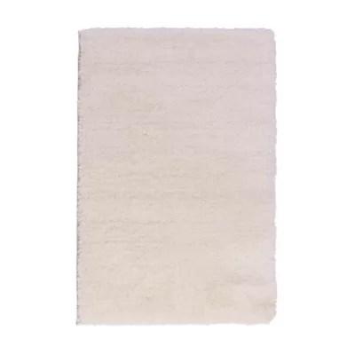 tapis cocoon blanc 150 x 200 cm