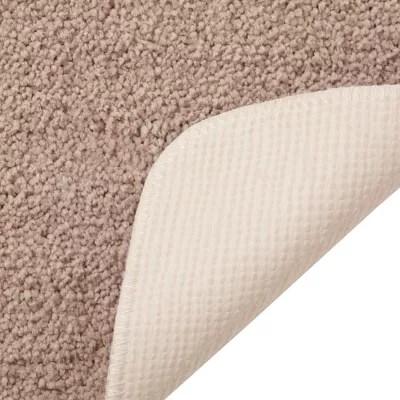 tapis de bain antiderapant microfibre galet 50 x 80 cm davoli
