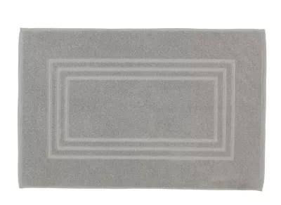 tapis de bain argent 50 x 80 cm palmi