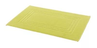 tapis de bain vert 50 x 80 cm palmi