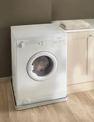 Tapis De Retention D Eau Et Anti Vibration Pour Machine A Laver A Chargement Frontal 62 X 62 X 5 Cm Castorama