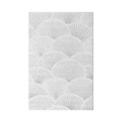 tapis sarah 100x150cm blanc