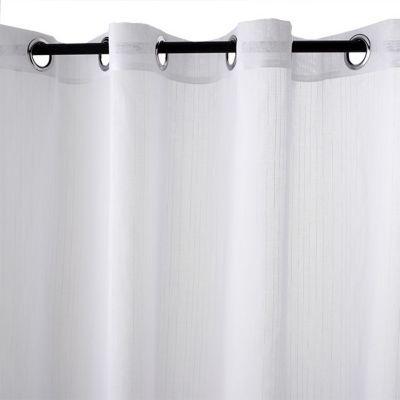 voilage colours natis blanc 280 x 240 cm