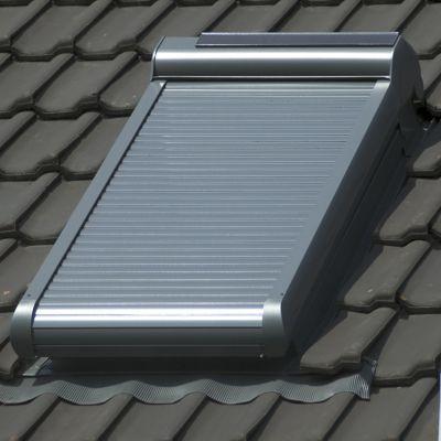 volet roulant solaire pegasus pour velux m04 78x98 cm