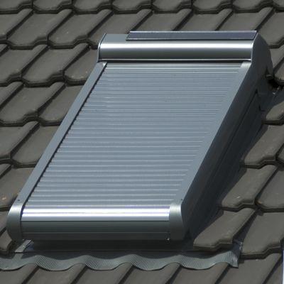 volet roulant solaire pegasus pour velux s06 114x118 cm