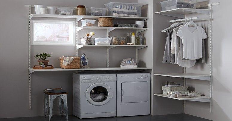 Jak wykończyć i urządzić pralnię? - Inspiracje i porady on Pralnia W Domu Inspiracje  id=53398