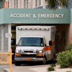 Head-on collision lands five in hospital